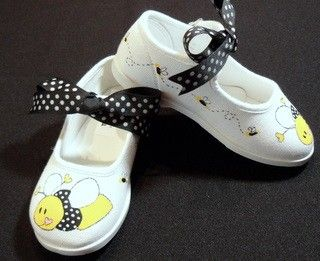 Lil' Honey Bee Mary Jane Shoes Goes Perfectly with Our Honey Bee Tutu Set-