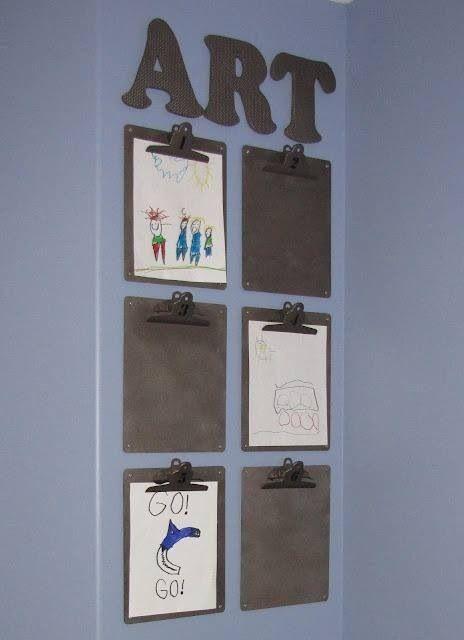 10 façons d'organiser les dessins des enfants - Paperblog