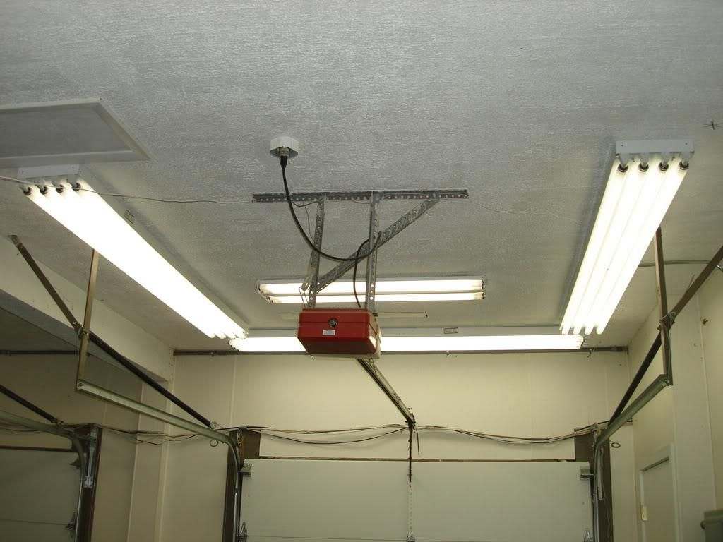 Garage Light Fixtures Fluorescent