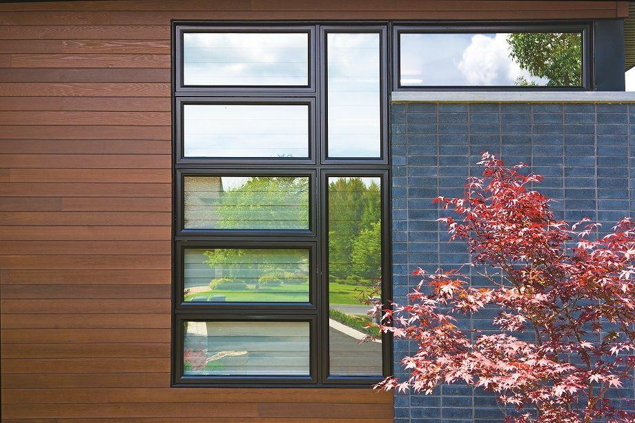 Jeld Wen Df Hybrid Vinyl Windows Blend Vinyl Interior With An Aluminum Clad Exterior For Easy Maintenance Maximum Per Window Design Window Styles Window Vinyl