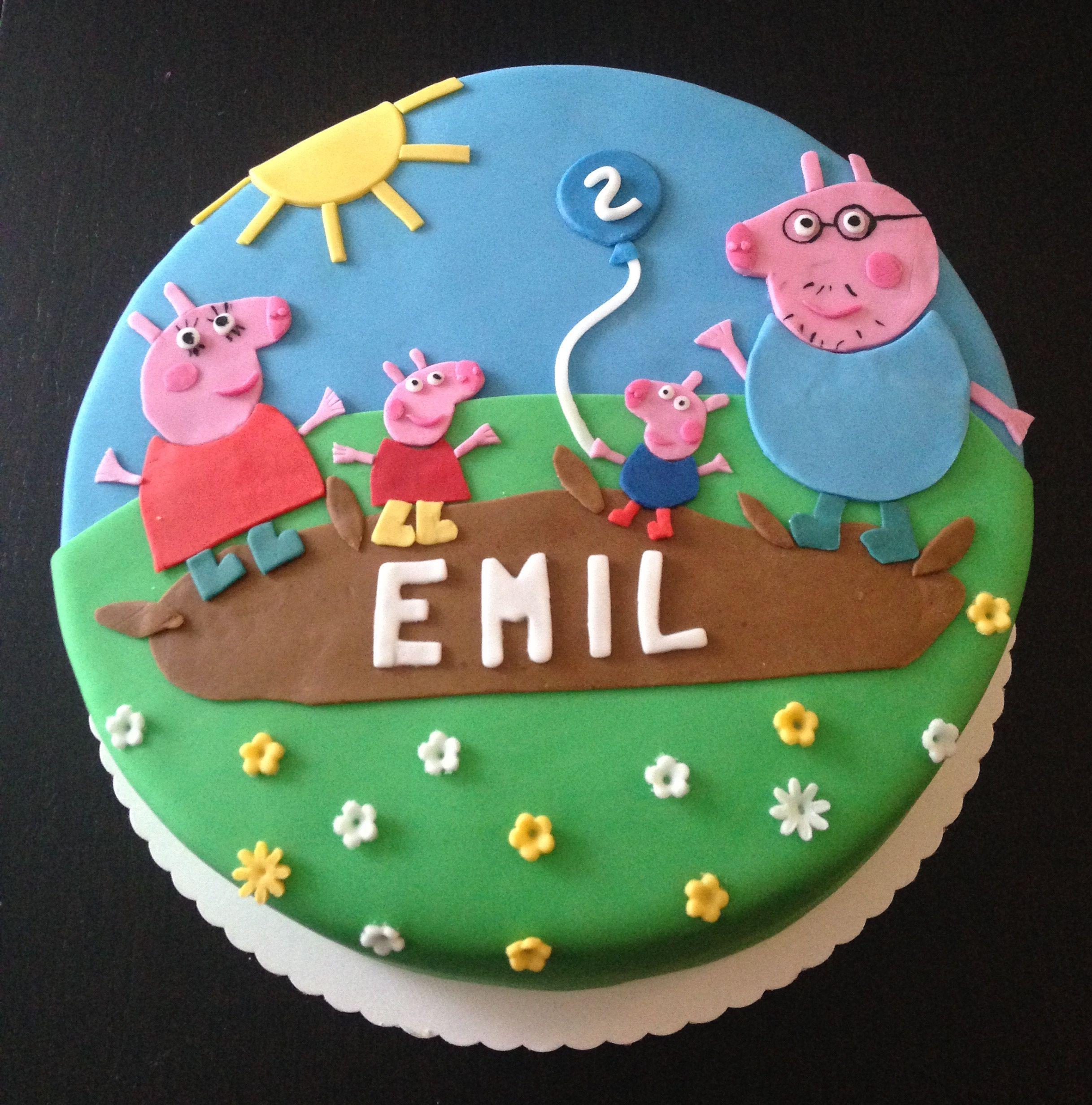 Peppa Wutz Cake Birthday Peppa Wutz Kuchen Peppa Wutz Geburtstag Geburtstag Torte