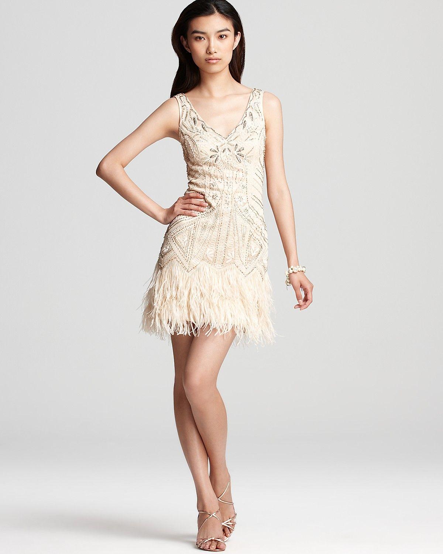 Sue Wong Neck Dress - Ruffle Skirt Bloomingdale' 426