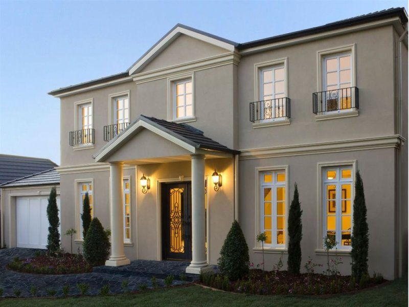 House facade ideas exterior house design and colours for Exterior facade ideas