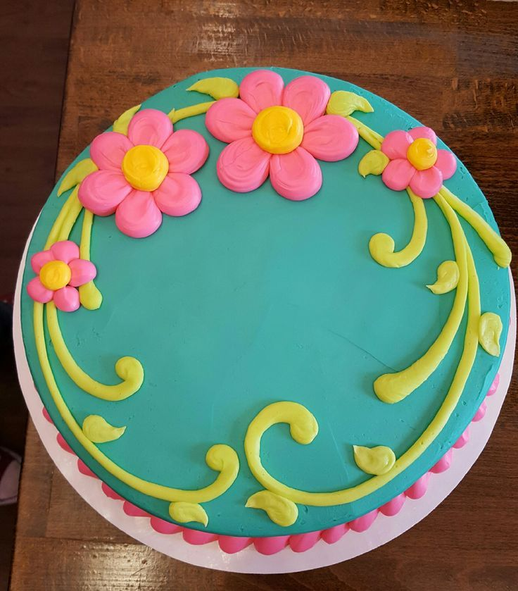 Image result for easy spring cake decorating ideas for Simple cake decorating ideas for birthdays