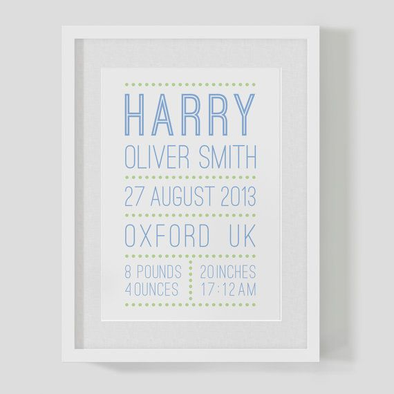 Personalised newborn baby boys birth name and date nursery print personalised newborn baby boys birth name and date nursery print poster 875 https negle Image collections