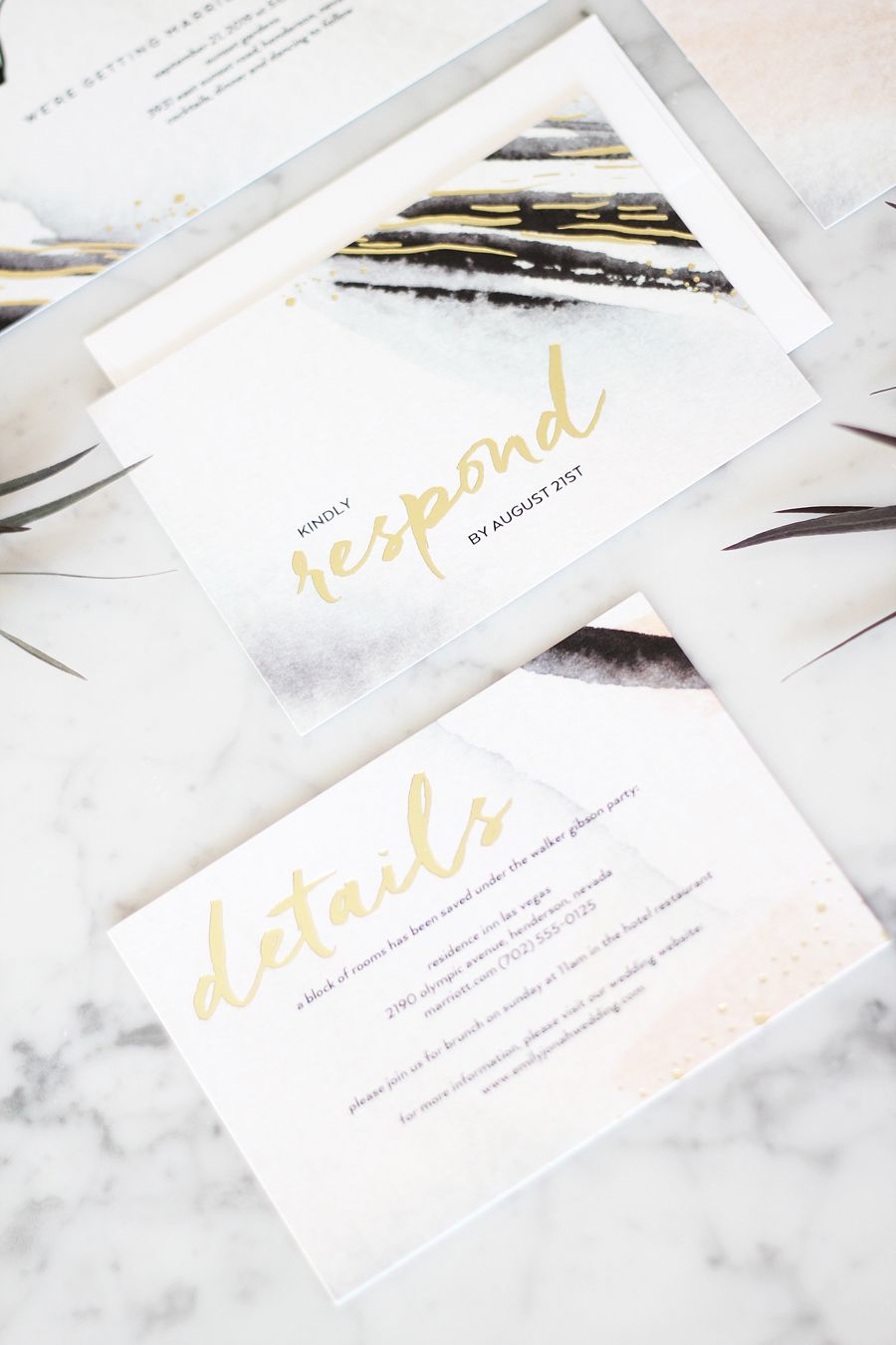 The Secret To Making Your Wedding Invitations Feel More Luxe   Luxe ...