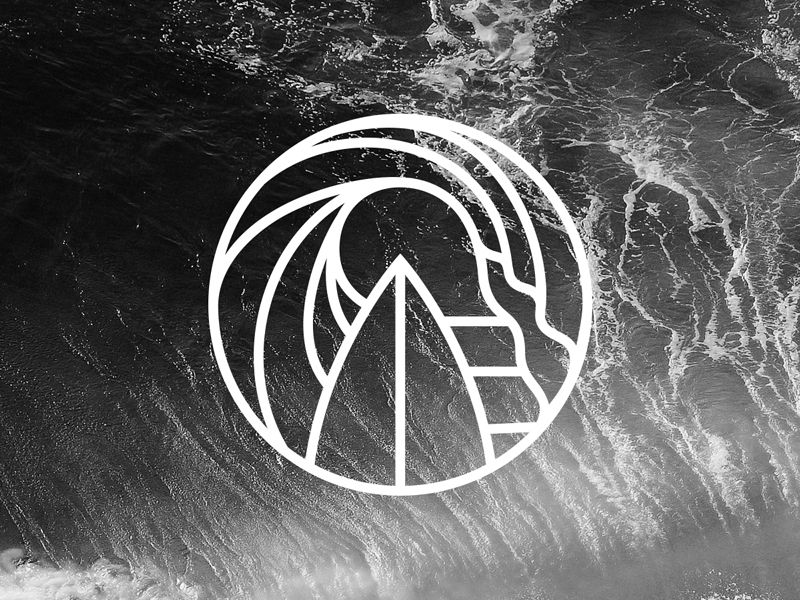 Symbol For A New Surf Project Logos Typography Design