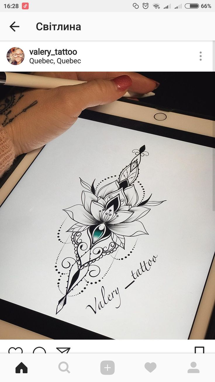 Photo of Vgv  #flowertattoos