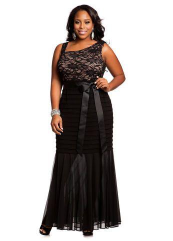 Ashley Stewart | Lace top dress, Fashion, Curvy girl fashion