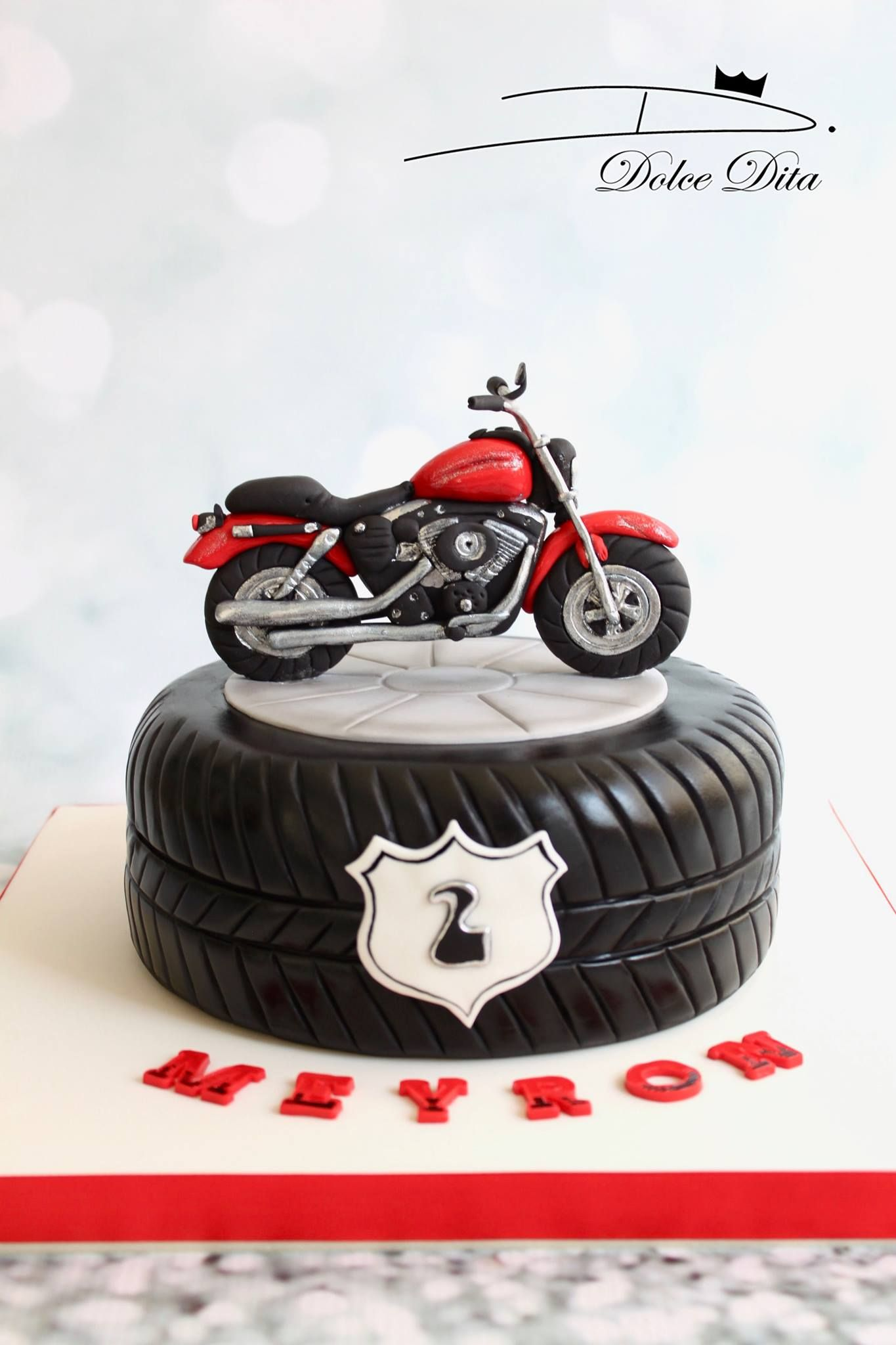 Cake Cakedesign Gateau Dolcedita Motorcycle Birthday Cakes