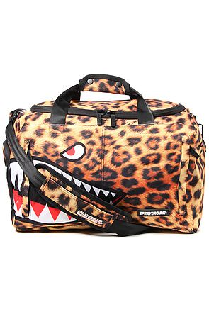 The Leopard Shark Large Duffle Bag In By Sprayground