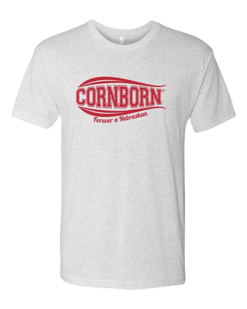 Nebraska Tee Shirt Premium Tri Blend Cornborn Forever A Nebraskan Tee Shirts Tees Shirts [ 1024 x 819 Pixel ]