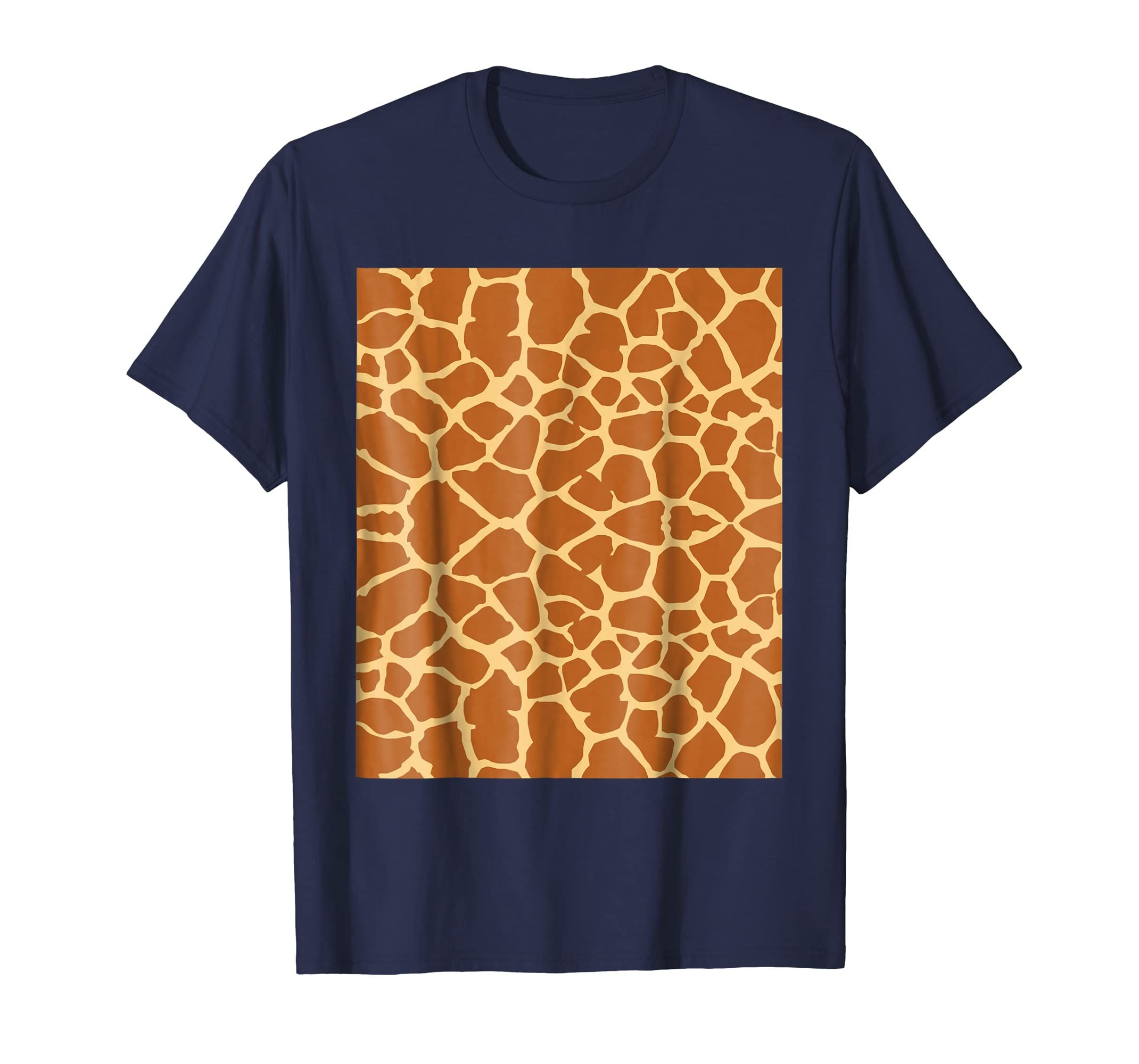 Giraffe Print T Shirt Giraffe Pattern Costume Gift Shirt-Teechatpro