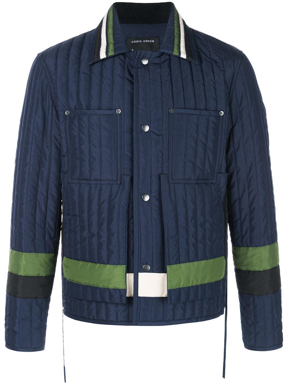 Craig Green Snap In Blue Modesens Jacket Buttons Jackets Craig Green