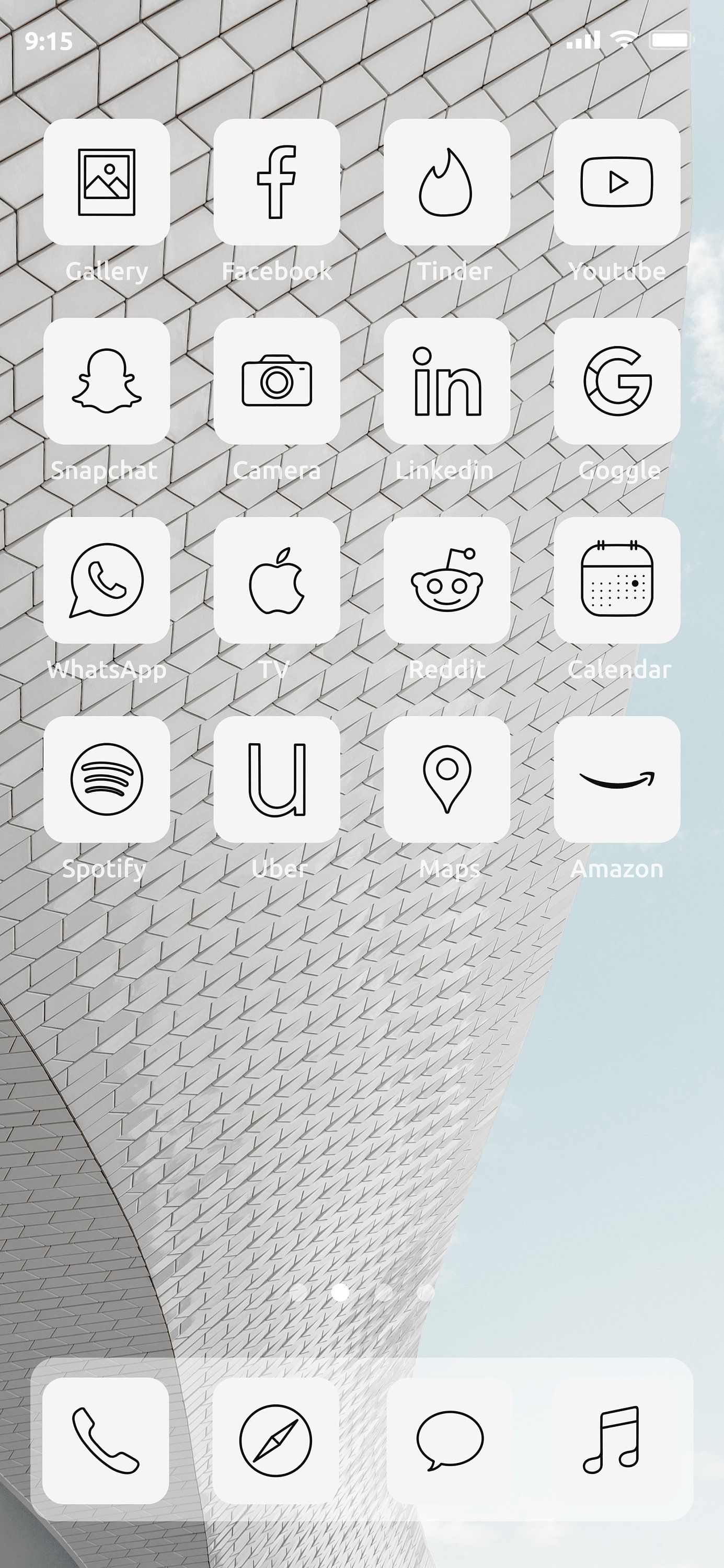White Minimalistic Ios14 Icon Pack 50 Icon Pack Etsy In 2020 Iphone Icon Icon Pack Icon
