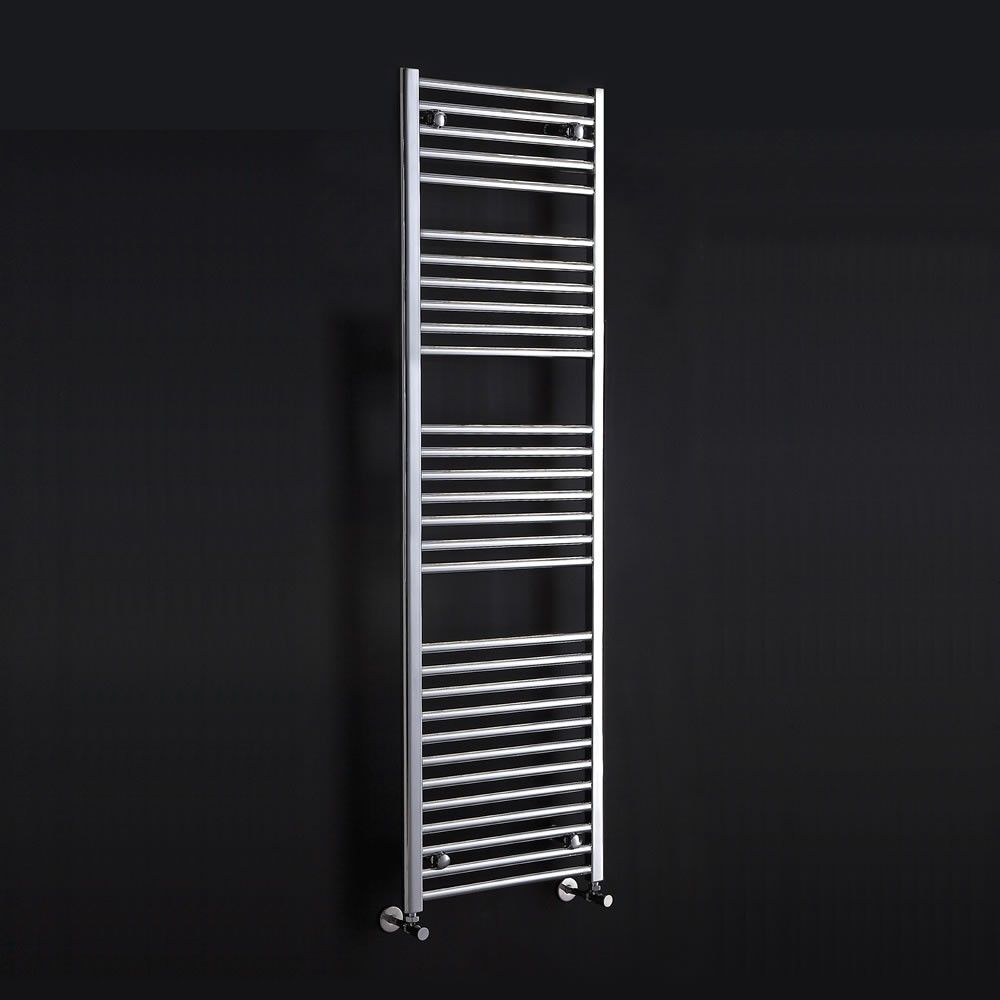This wide Flavia allows you to install a heating option in the tightest of  bathroom spaces  Heights up to with great towel warming capabilities. Phoenix Flavia 300mm Wide Narrow Radiators in White Or Chrome