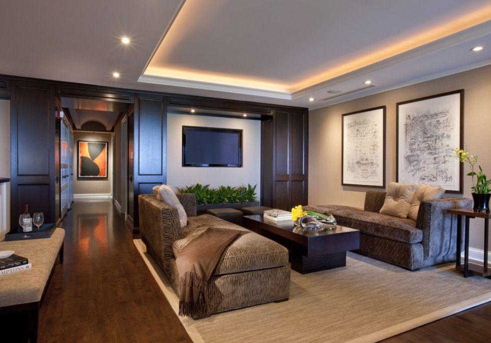 Tabla yeso luz y moldura estilo cl sico elegante for Decoracion de interiores clasico elegante