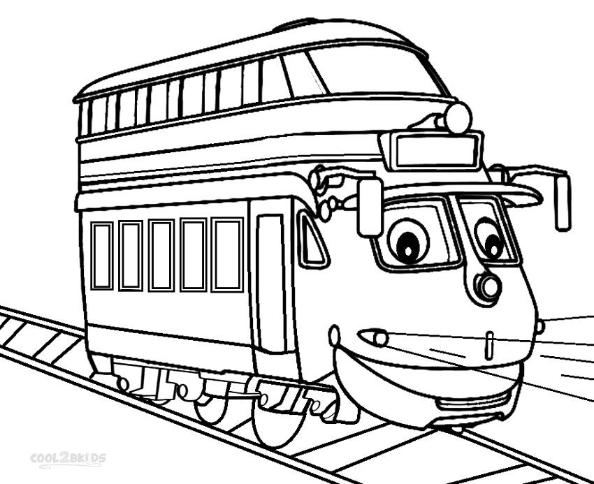 Printable Chuggington Coloring Pages For Kids | Cool2bKids | Film ...