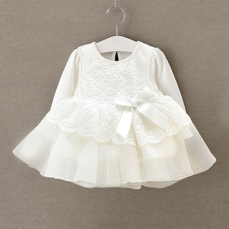 Baby girl dress white lace wedding party gowns | Baby Girls ...