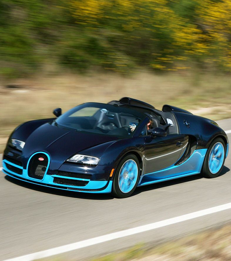Bugatti Veyron Grand Sport Vitesse Painted In Black And: Bugatti Veyron, Bugatti, Bugatti Cars