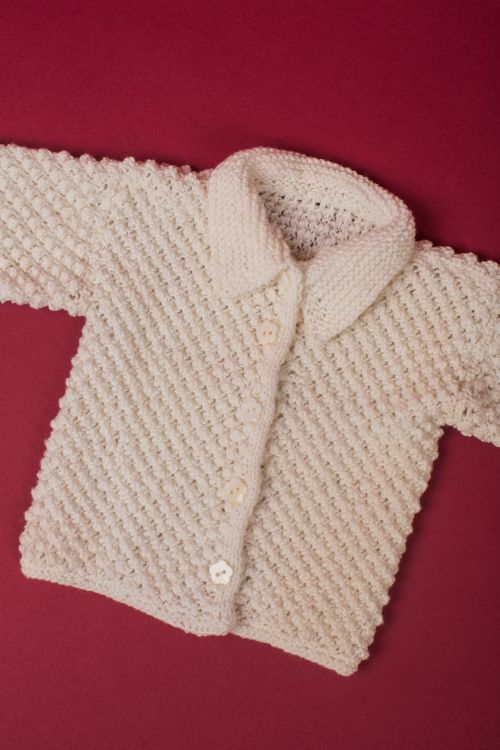 Photo of Baby-Strickjacke – Initiative Handarbeit