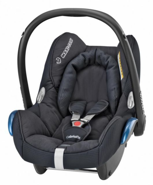 Maxi-Cosi CabrioFix Car Seat - Black £135 - favourite on mumsnet
