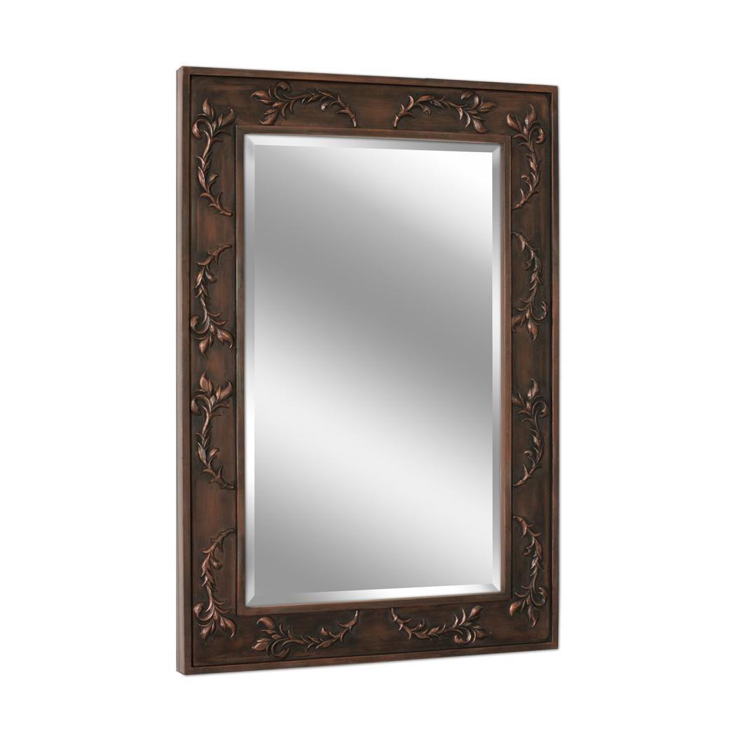 Classic Scroll Bronze Wall Mirror (1045) | Mirror