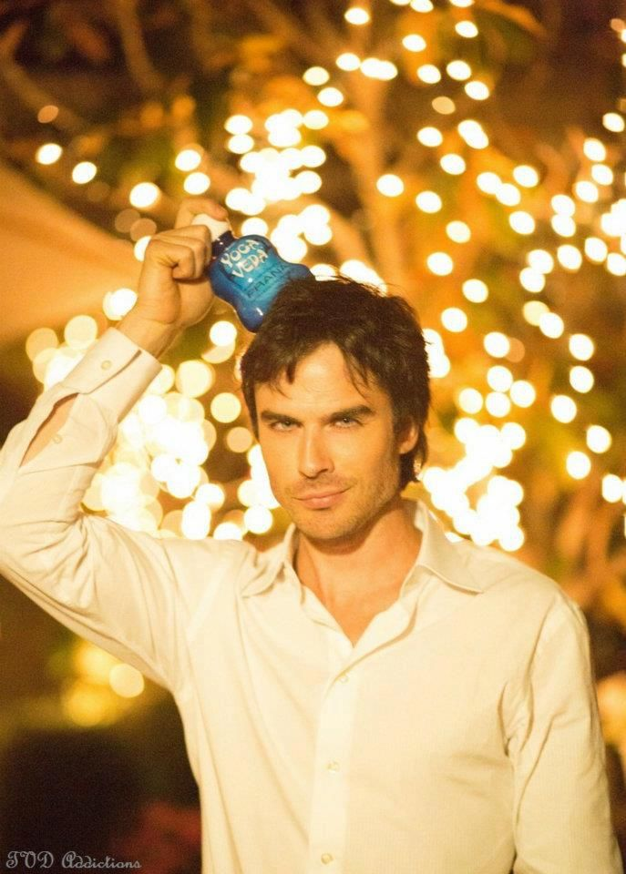 Ian Somerhalder... I'm obsessed :)