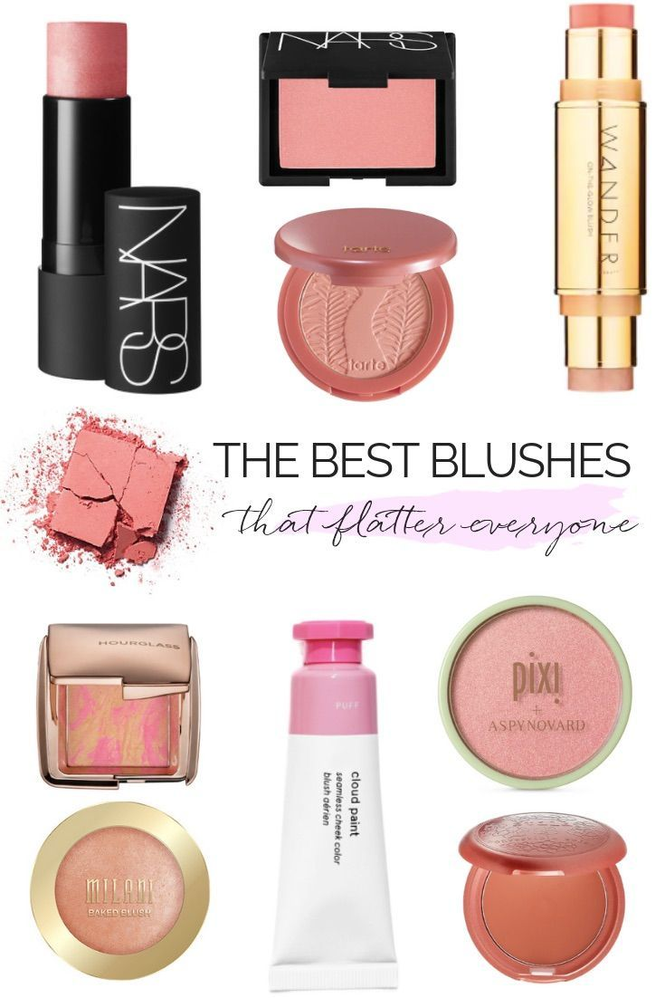 THE MOST FLATTERING BLUSHES & HOW TO APPLY THEM