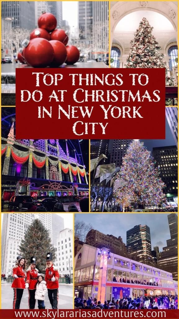 How to spend Christmas in New York City with kids - Skylar Aria's Adventures