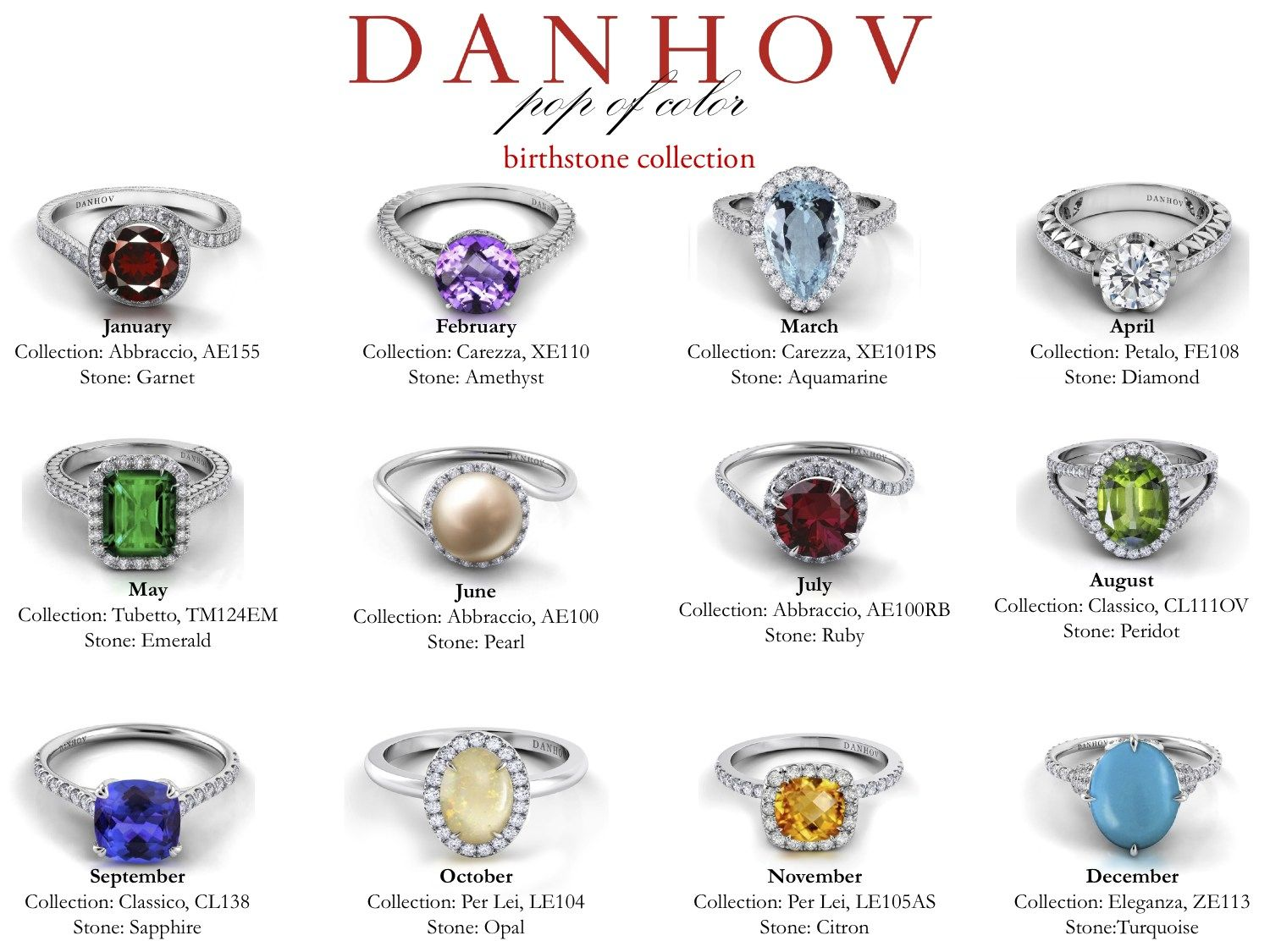 birth newest danhov collection pop of color