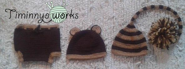 Little bear set for babies