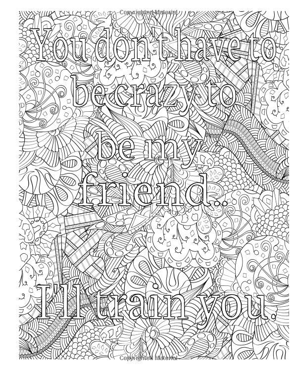 Colorful Quotes: 40 Inspiring Coloring Patterns for Adults: Peter ...
