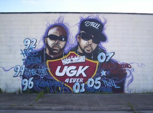 Rapper Street Murals Pimp C Tats Graffiti Arts Gangster Rap