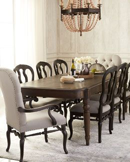 5S08 Bernhardt Audrina Dining Table Two Audrina Side Chairs Two Gorgeous Bernhardt Dining Room Set Decorating Inspiration