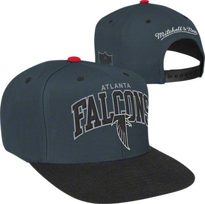8ce263a37db Atlanta Falcons Mitchell   Ness Arch Logo 2-Tone Snapback Hat  falcons  nfl   football