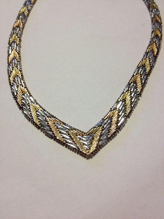 Woven Gold Chain Bracelet