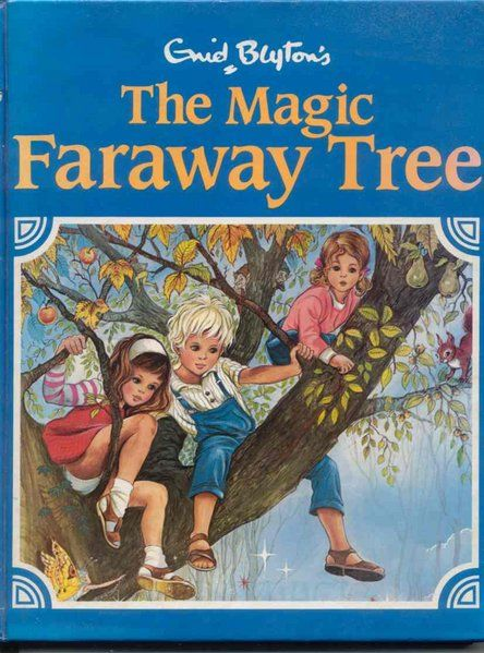 You can't put down Enid Blyton's amazing fantasy stories, and The Magic Faraway Tree Series is unforgettable!