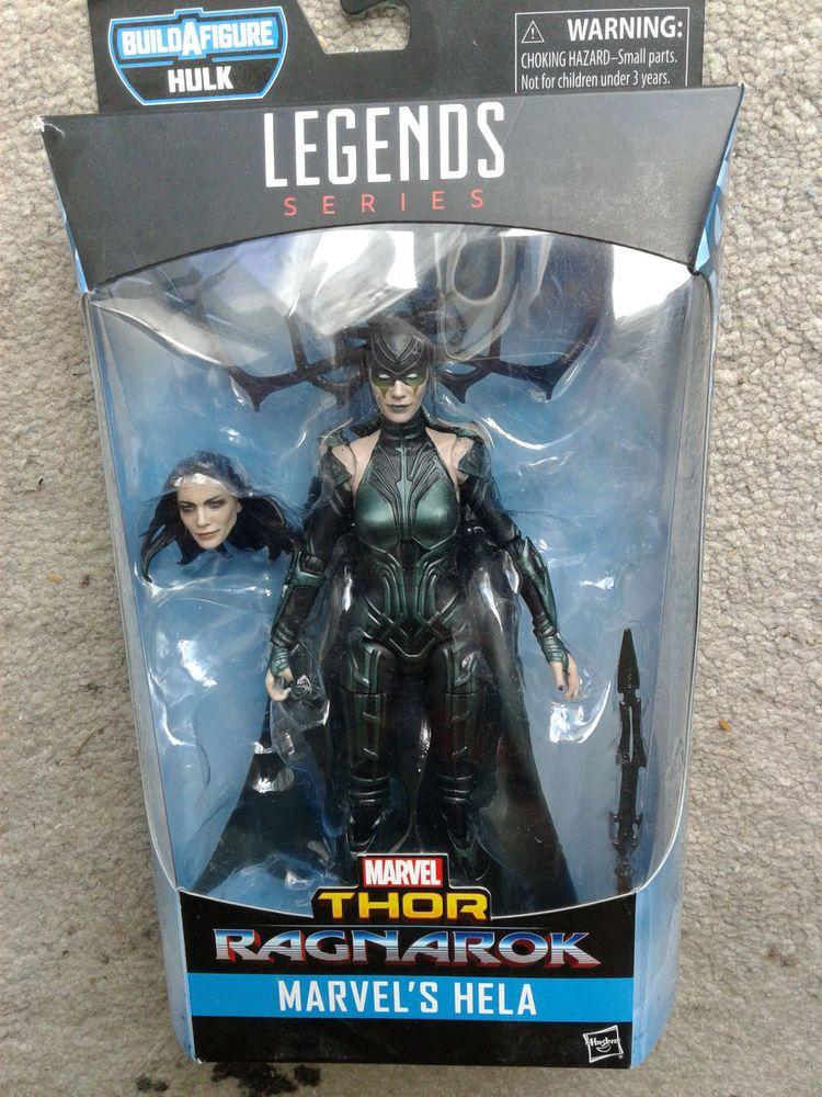 "Marvel Legends Ragnarok Thor /& Valkyrie 6/"" Figure 2-Pack Brand New In Hand 2017"