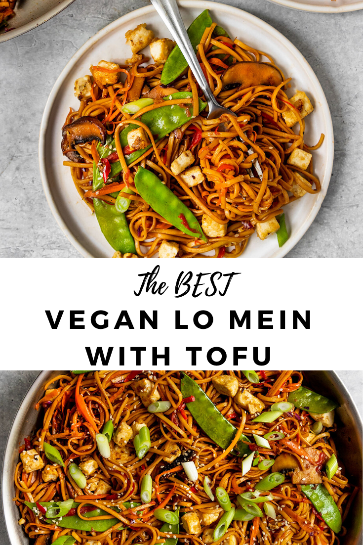 Vegan Vegetable Lo Mein With Tofu Short Girl Tall Order In 2020 Vegan Lo Mein Plant Based Recipes Dinner Vegetable Lo Mein