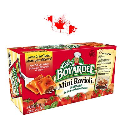 Chef Boyardee Beef Mini Ravioli Pasta In Tomato Meat Sauce 8 X 425g 3 4 Kg Ravioli Pasta Chef Boyardee Meat Sauce