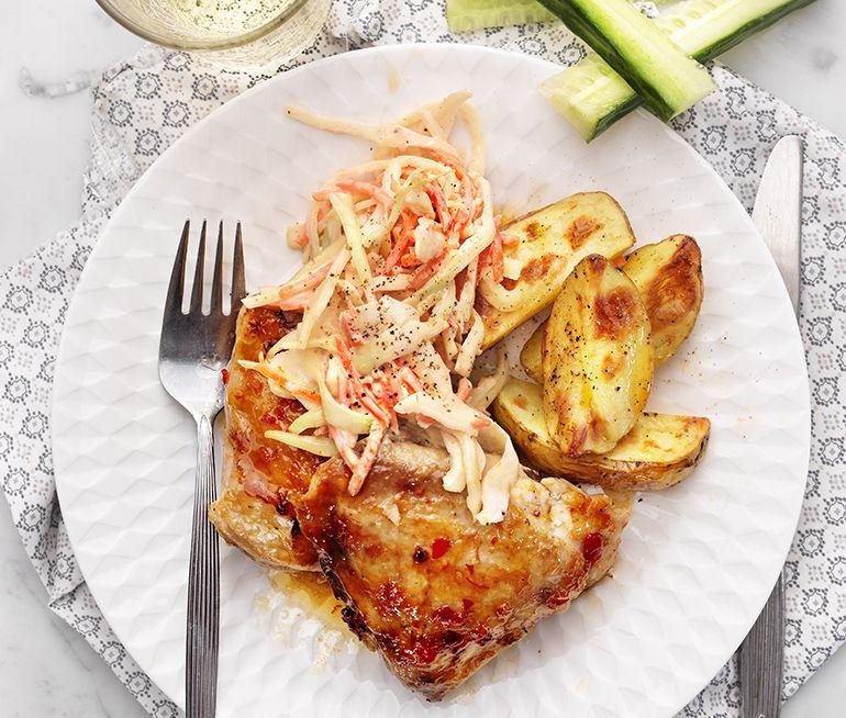 recept kyckling potatis