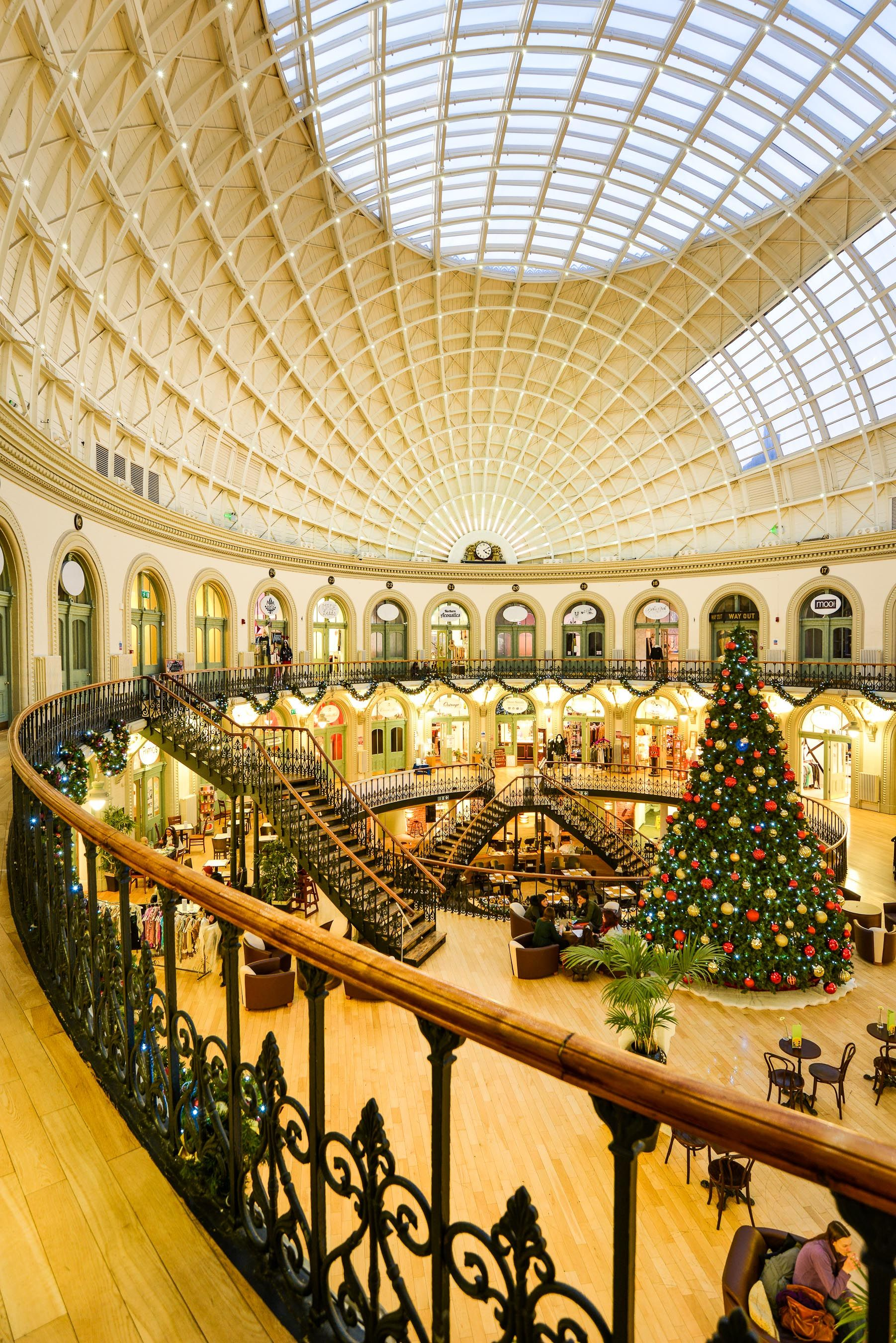 Christmas At Leeds Corn Exchange Leeds England Christmas Place Leeds