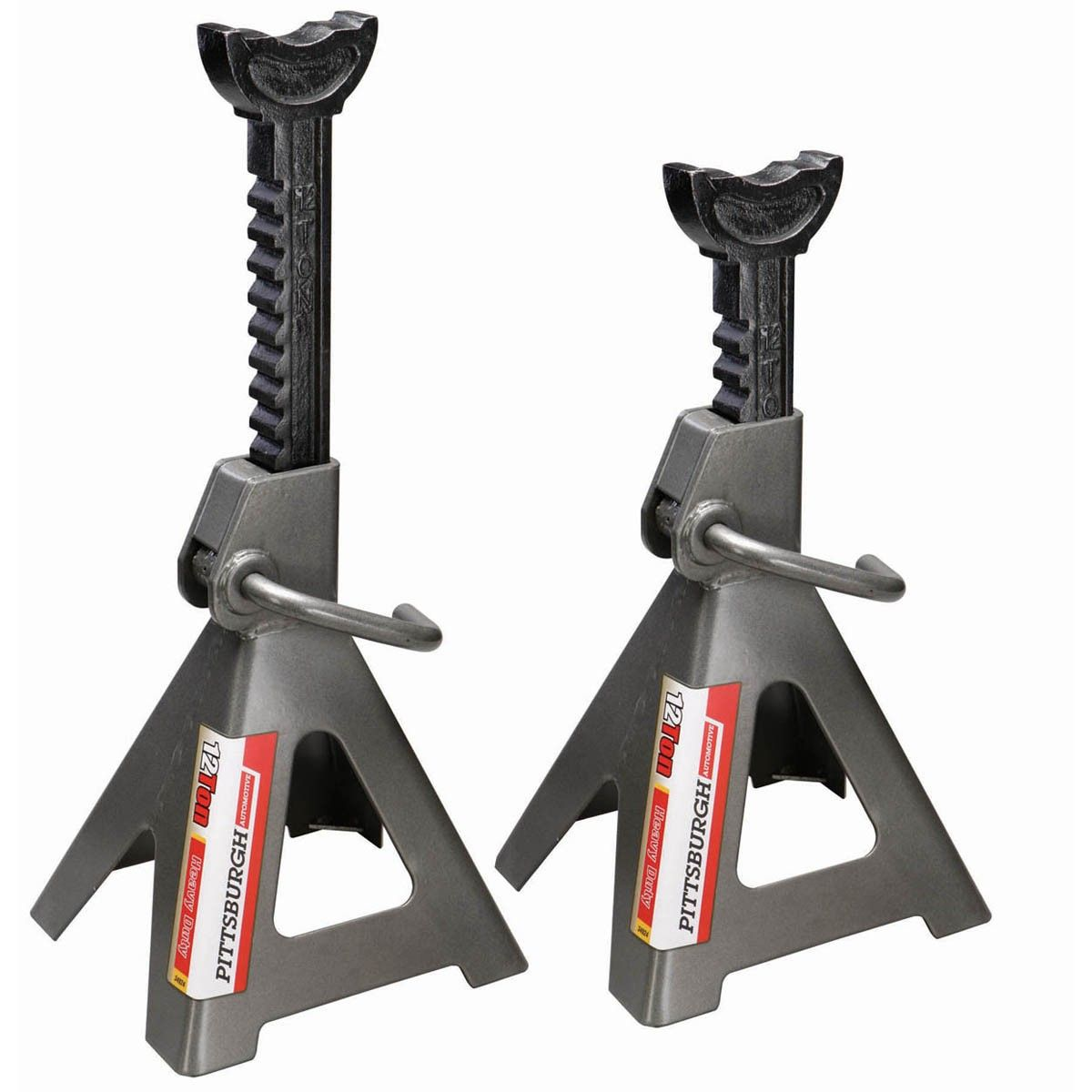 12 Ton Steel Jack Stands Jack Stands Auto Mechanics Tools Mechanic Tools