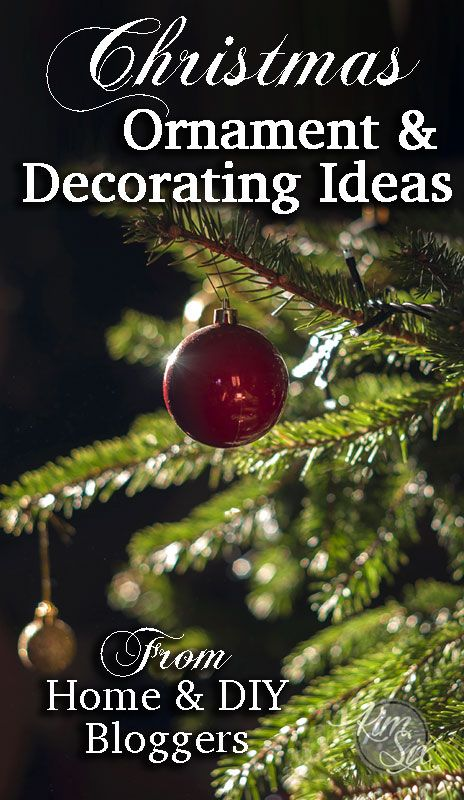 DIY Christmas Ornament and Decorating Ideas All Things Christmas