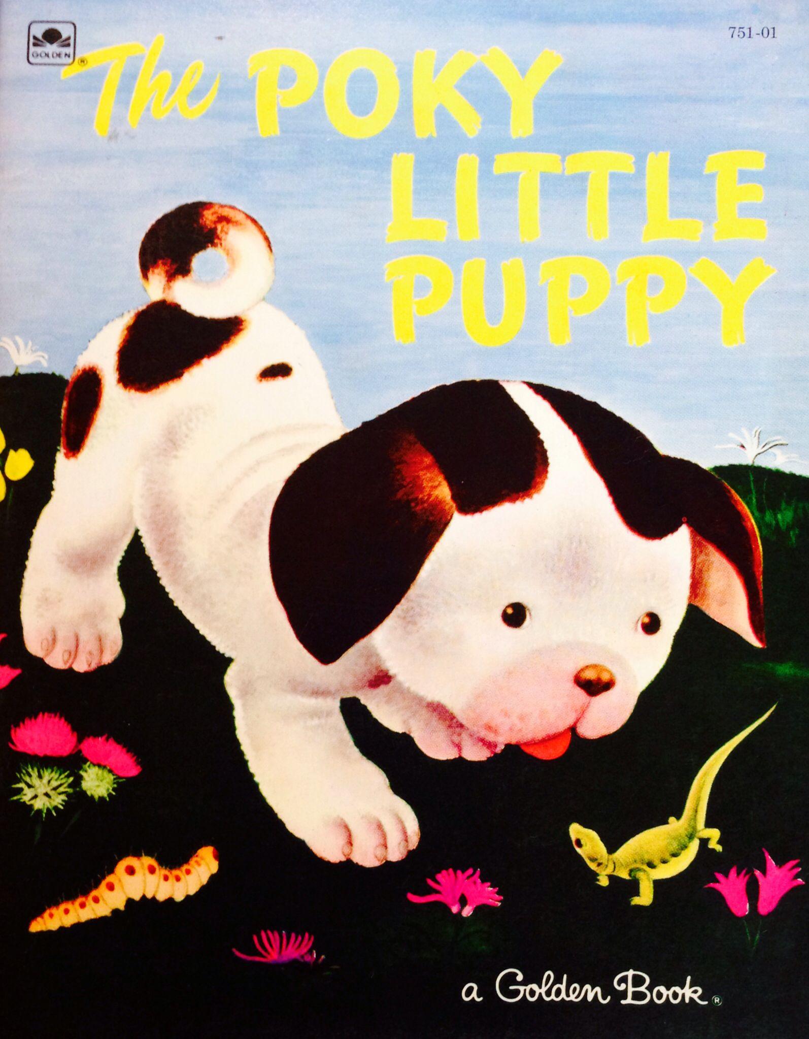 The poky little puppy little golden books pokey little