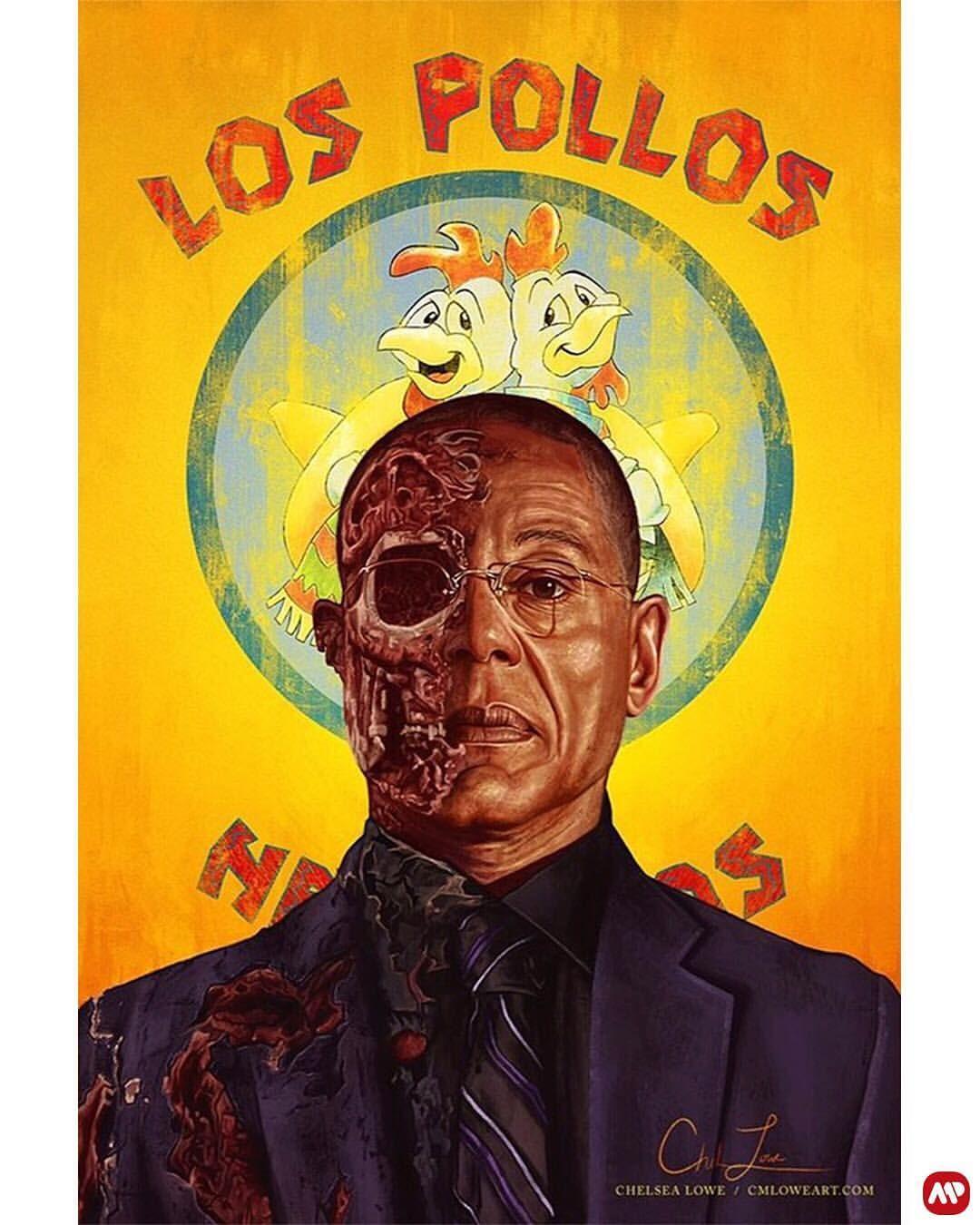 Breaking Bad, Gus Fring, Los Pollos Hermanos.