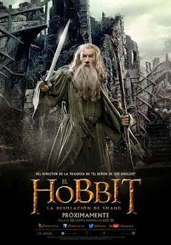 El Hobbit 2 La Desolacion De Smaug Online Latino 2013 Peliculas Audio Latino Online The Hobbit Movies The Hobbit Hobbit Poster