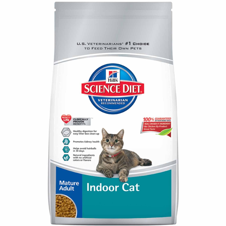 Hill s Science Diet Indoor Senior Cat Food she is indoors D