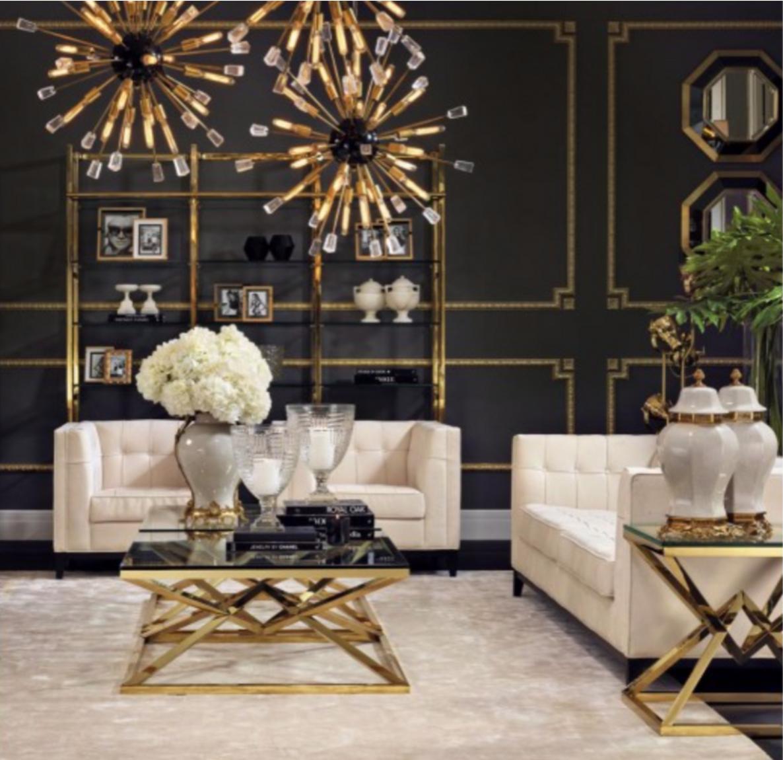 Leila Home in 2020 | Luxury living room design, Regency ...